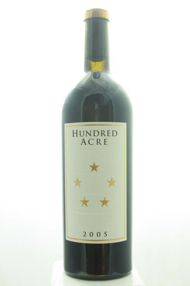 Hundred Acre Cabernet Sauvignon Estate Ark Vineyard 2005
