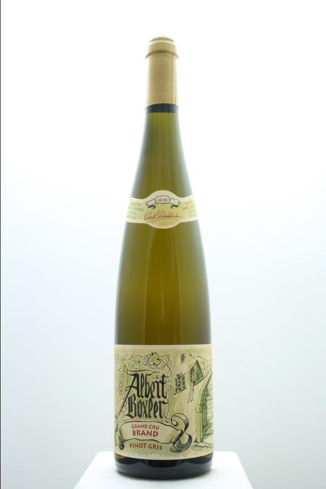 Albert Boxler Pinot Gris Brand 2007