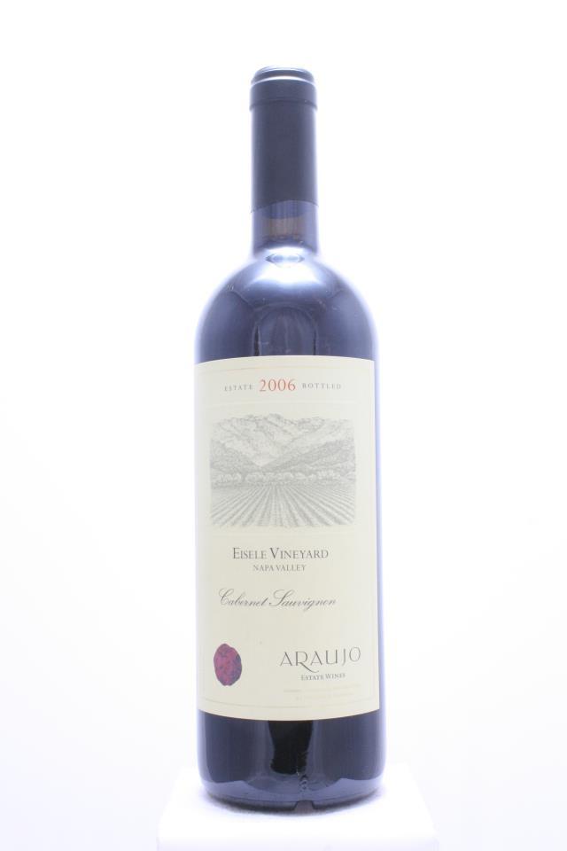 Araujo Estate Cabernet Sauvignon Eisele Vineyard 2006