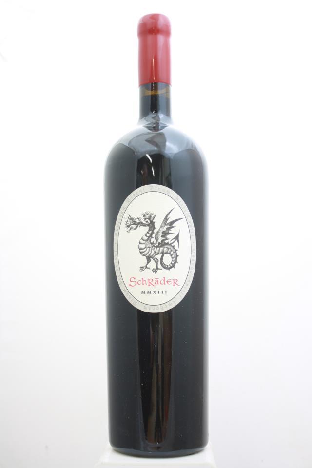 """Schrader Cabernet Sauvignon Beckstoffer To Kalon Vineyard MMXIII """"Old Sparky"""" 2013"""