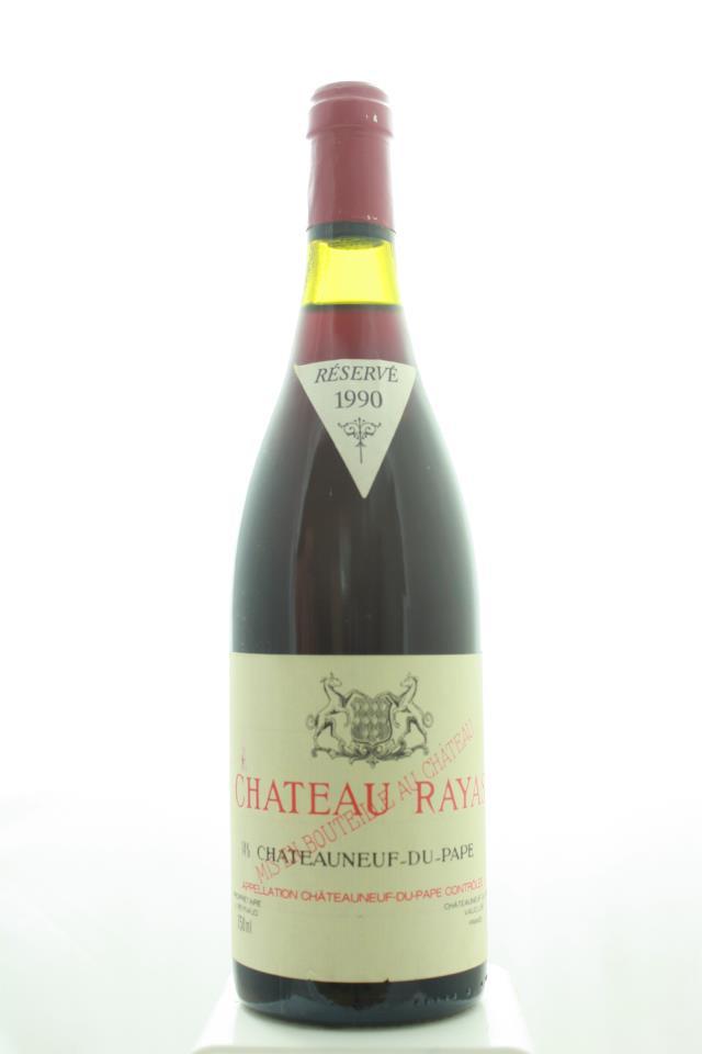 Château Rayas Châteauneuf-du-Pape Cuvée Réservé 1990