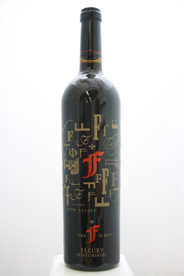 Fleury Estate Proprietary Red The F in Red 2007