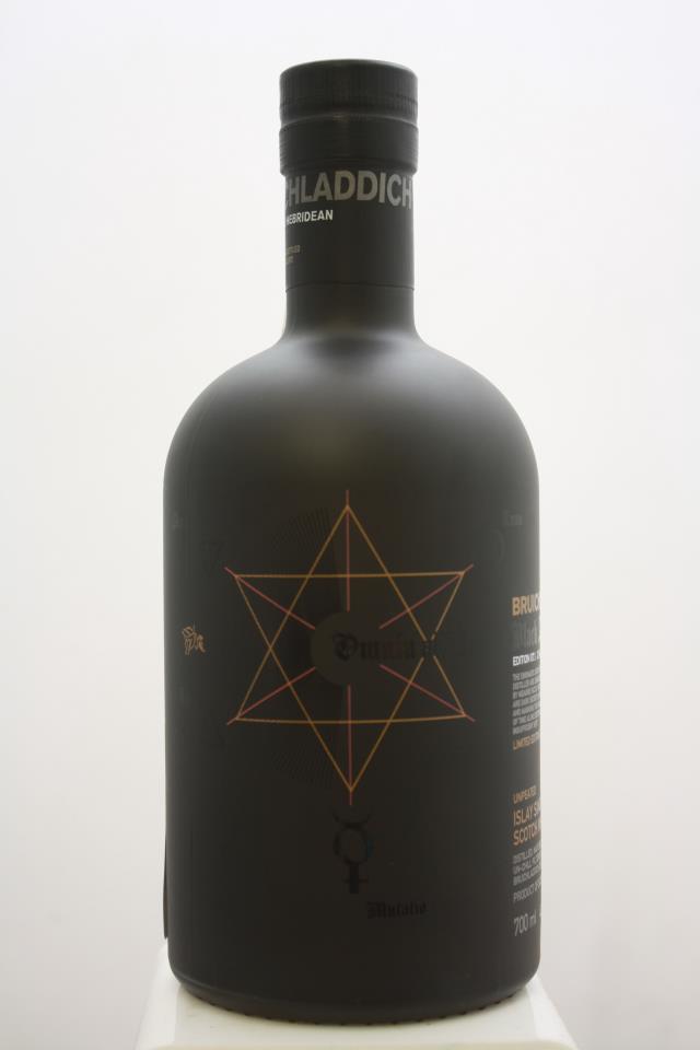 Bruichladdich Distillery Islay Single Malt Scotch Whisky Black Art Edition 07.1 25-Years-Old 1994