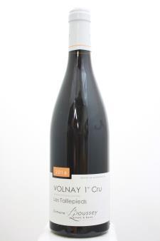 Domaine Laurent & Karen Boussey Volnay Les Taillepieds 2016