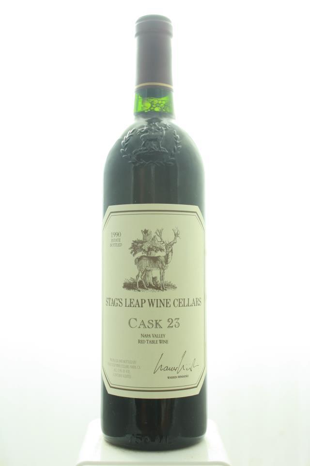 Stag's Leap Wine Cellars Cabernet Sauvignon Cask 23 1990