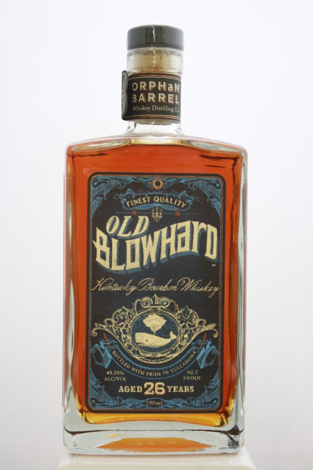 Orphan Barrel Distillery Co. Kentucky Bourbon Whiskey Old Blowhard 26-Years-Old NV