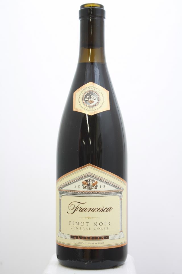 Arcadian Pinot Noir Francesca 2013