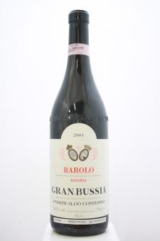 Aldo Conterno Barolo Riserva Granbussia 2001
