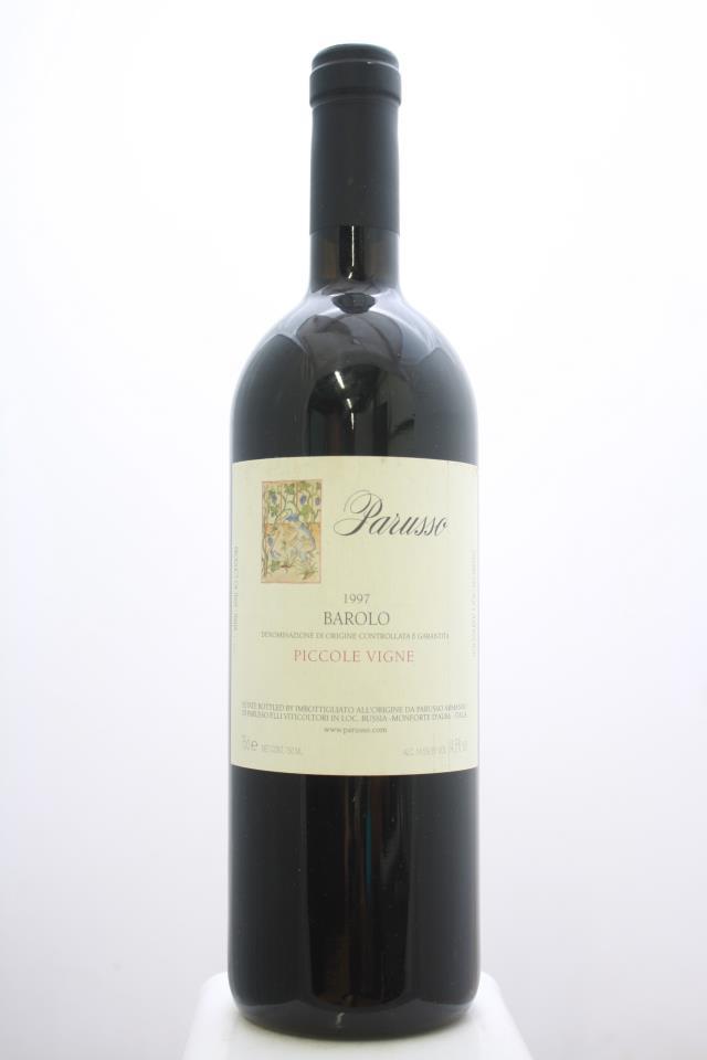 Parusso Barolo Piccole Vigne 1997