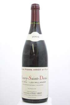 Pierre Amiot Morey-Saint-Denis Les Millandes 2005