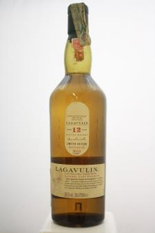 Lagavulin Islay Single Malt Scotch Whisky Natural Cask Strength Limited Edition 12-Years-Old 2010