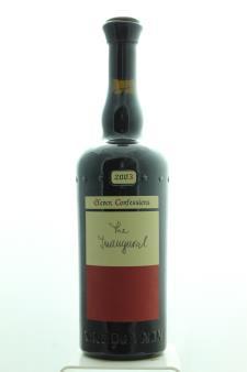 Sine Qua Non Syrah Estate Eleven Confessions Vineyard The Inaugural 2003