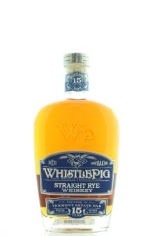 WhistlePig Straight Rye Whisky 15-Years-Old NV