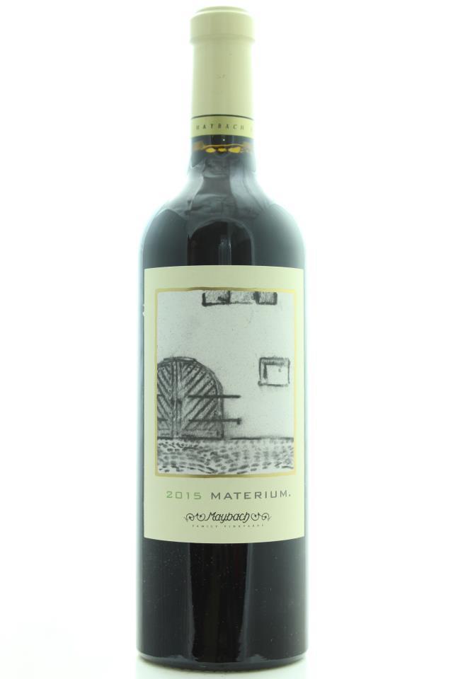 Maybach Cabernet Sauvignon Weitz Vineyard Materium 2015