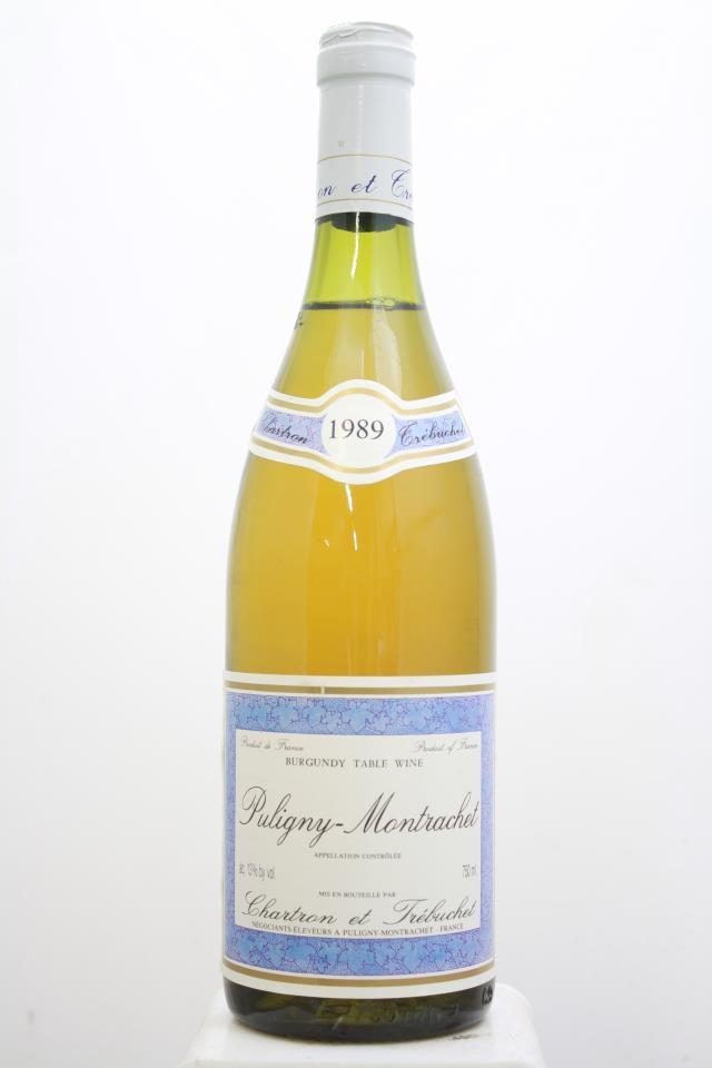 Chartron et Trébuchet Puligny-Montrachet 1989