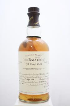 The Balvenie Single Malt Whisky Single Cask 1971