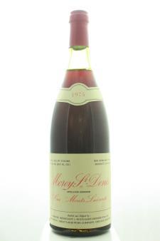 Doucet Morey-Saint-Denis Monts Luisants 1975