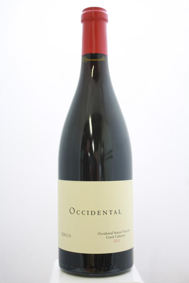 Kistler Pinot Noir Occidental Station Vineyard Cuvée Catherine 2012