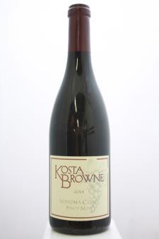 Kosta Browne Pinot Noir Sonoma Coast 2014