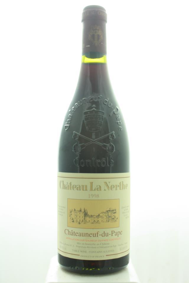 La Nerthe Châteauneuf-du-Pape 1998