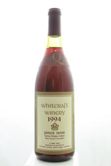 Whitcraft Pinot Noir Bien Nacido Vineyard 1994