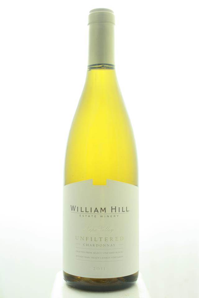 William Hill Chardonnay Unfiltered 2011