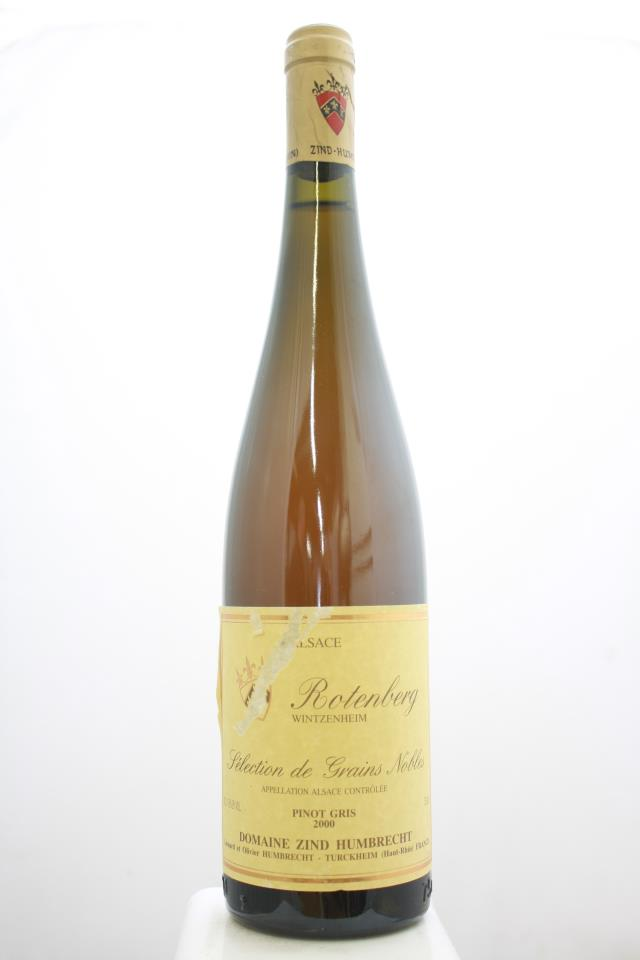 Zind Humbrecht Pinot Gris Rotenberg Selection de Grains Nobles 2000