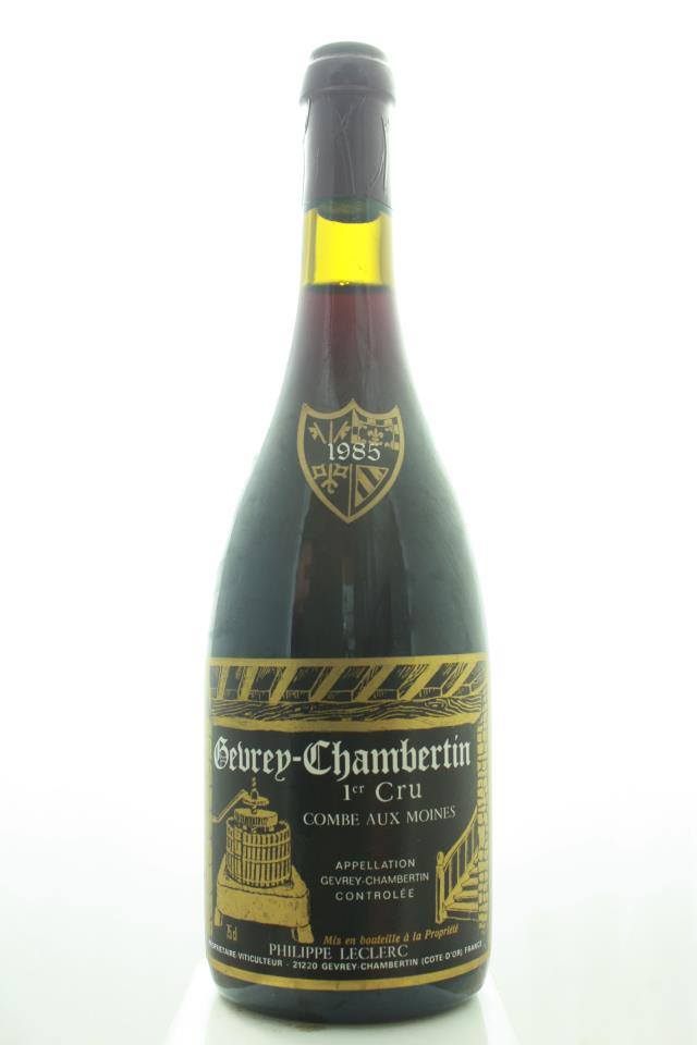 Philippe Leclerc Gevrey-Chambertin Combe Aux Moines 1985