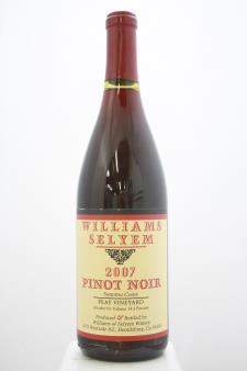 Williams Selyem Pinot Noir Peay Vineyard 2007