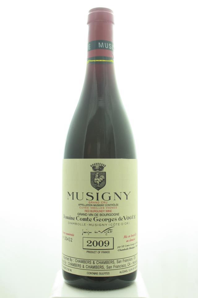 Comte Georges de Vogüé Musigny Cuvée Vieilles Vignes 2009