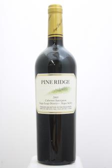 Pine Ridge Cabernet Sauvignon Stags Leap District 2003