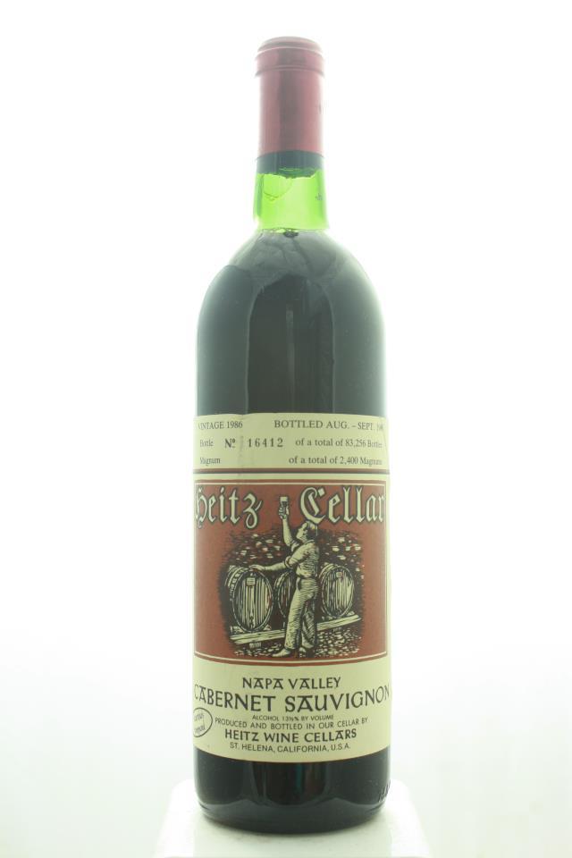 Heitz Cellar Cabernet Sauvignon Martha's Vineyard 1986