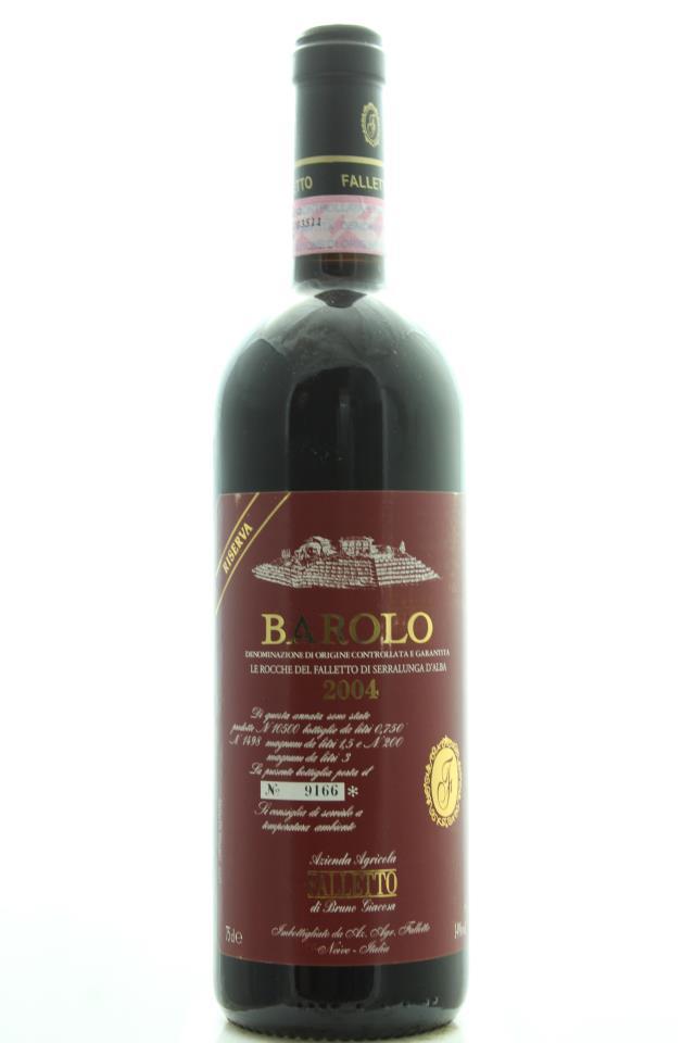 Bruno Giacosa Barolo Riserva Le Rocche del Falletto di Serralunga d'Alba 2004