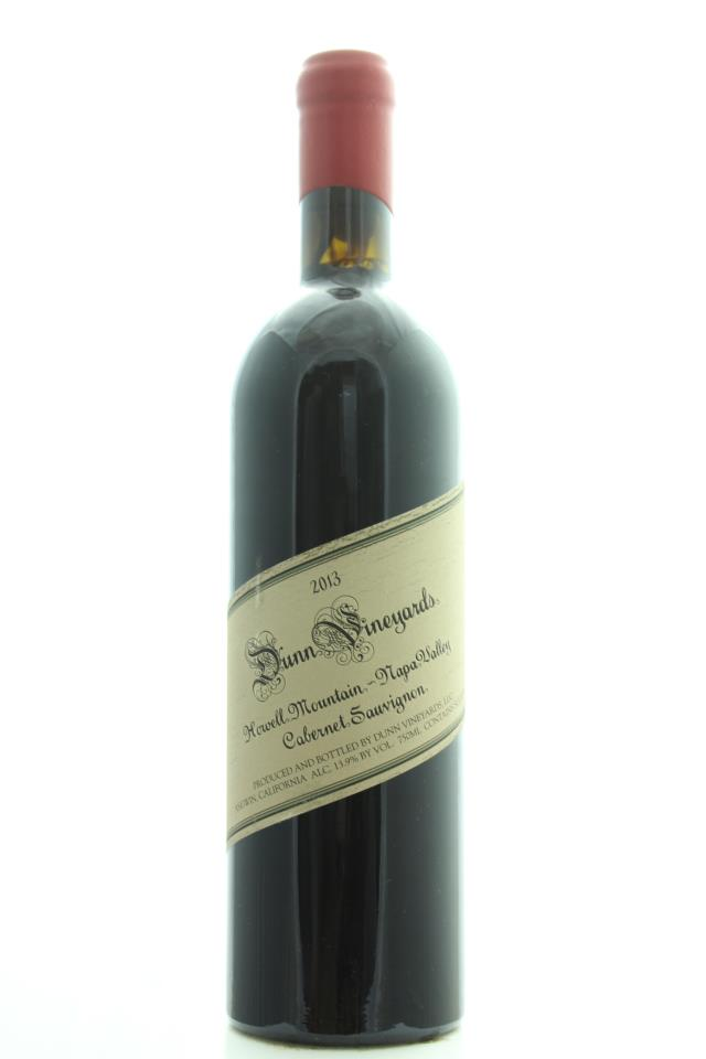 Dunn Cabernet Sauvignon Howell Mountain 2013