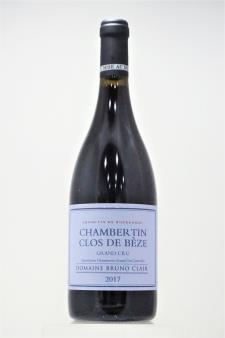 Bruno Clair Chambertin-Clos de Bèze 2017