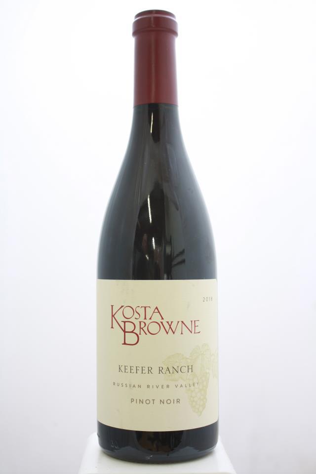 Kosta Browne Pinot Noir Keefer Ranch 2018
