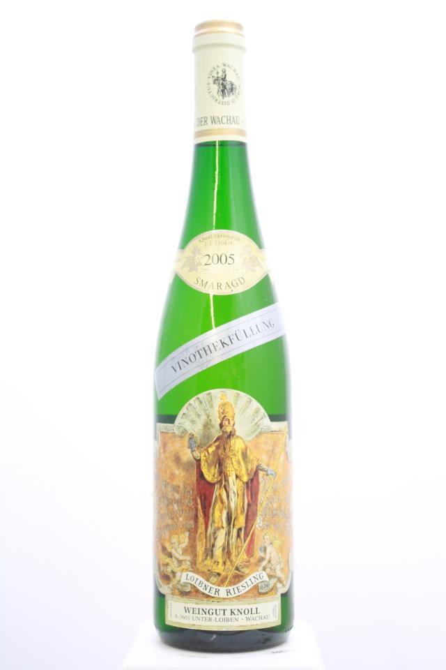 Knoll Loibner Riesling Vinothekfüllung Smaragd 2005
