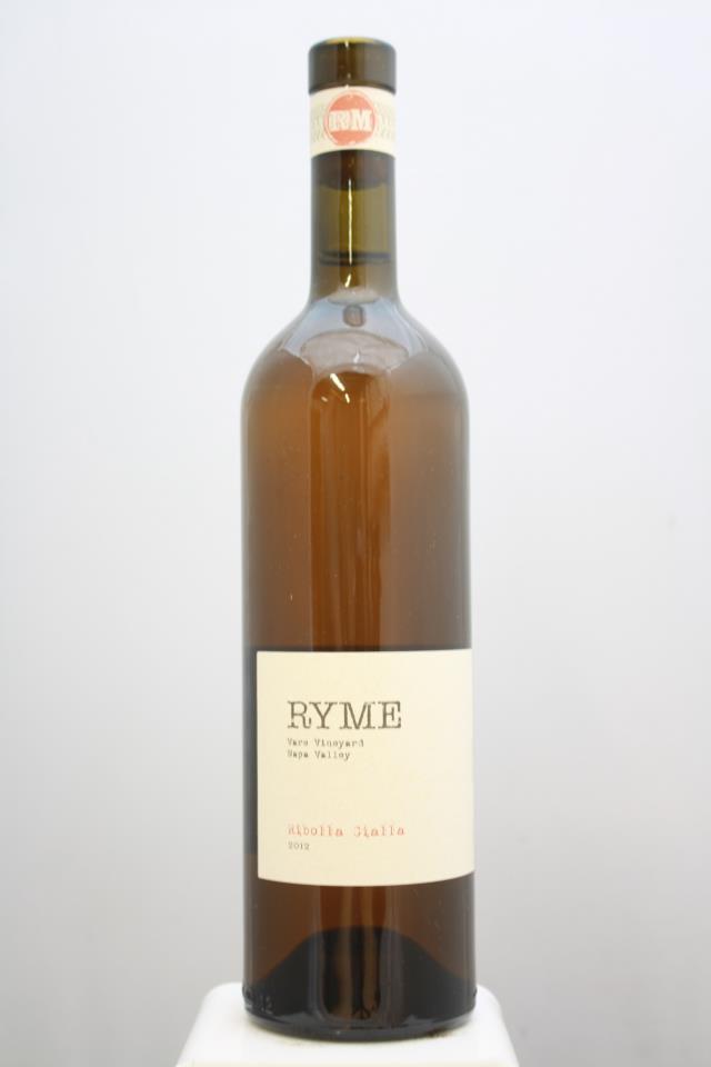 Ryme Ribolla Gialla Vare Vineyard 2012