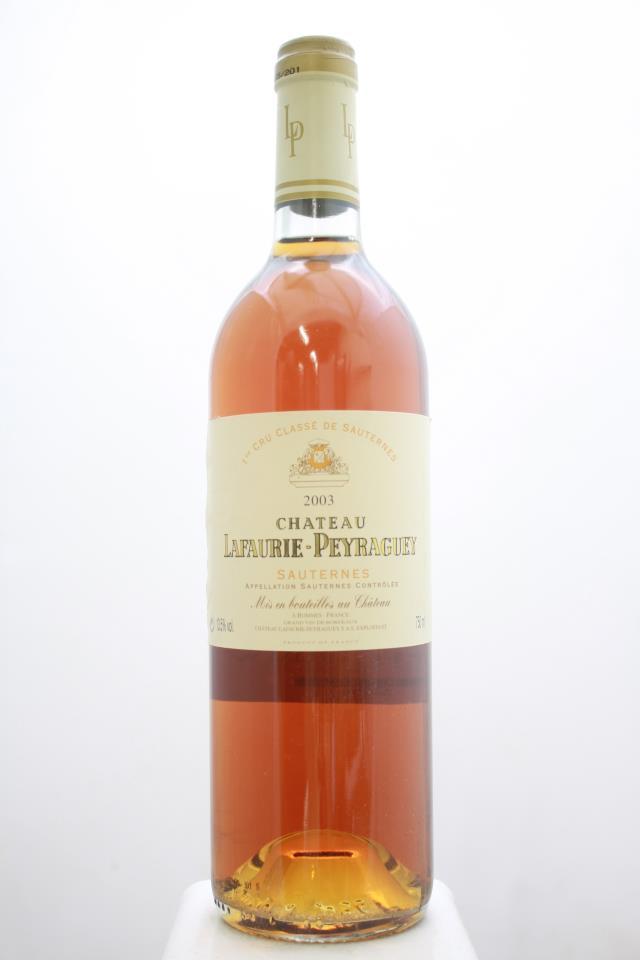 Lafaurie-Peyraguey 2003