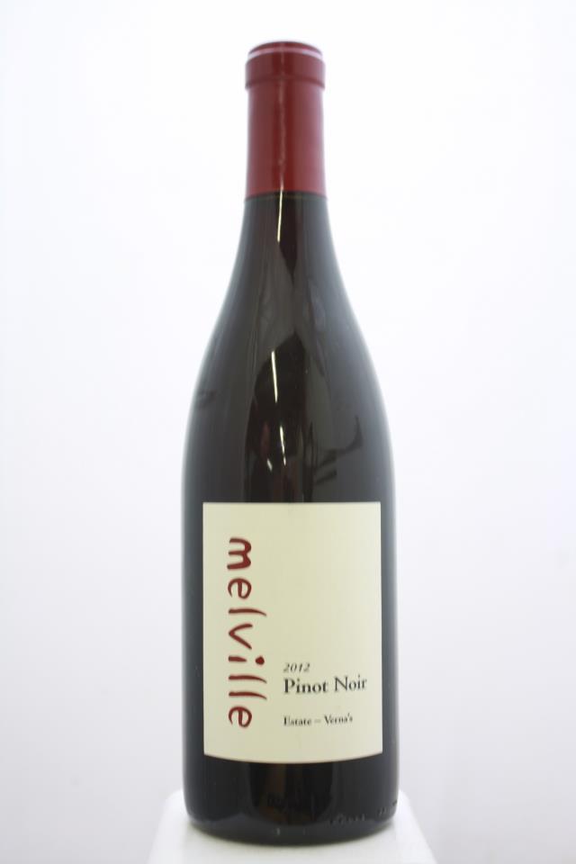 Melville Pinot Noir Estate Verna's 2012
