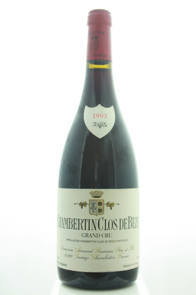 Armand Rousseau Chambertin-Clos de Bèze 1993