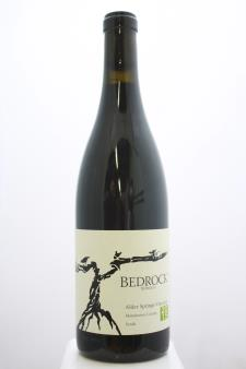Bedrock Syrah Alder Springs Vineyard  2015
