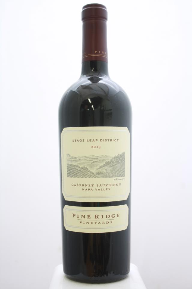 Pine Ridge Cabernet Sauvignon Stags Leap District 2013