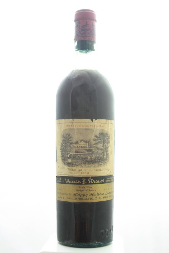 Lafite Rothschild 1940