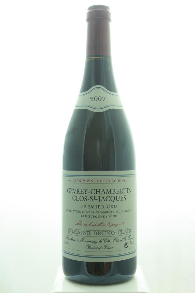 Bruno Clair Gevrey-Chambertin Clos-Saint-Jacques 2007
