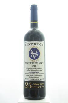 Stonyridge Vineyard Proprietary Red Larose Stonyridge Vineyard 2010