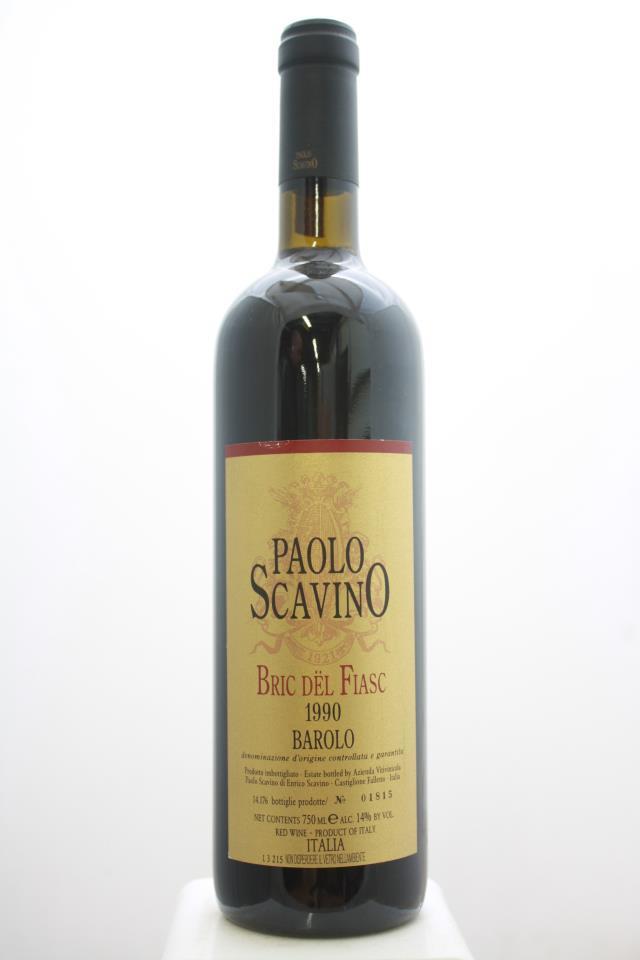Paolo Scavino Barolo Bric del Fiasc 1990
