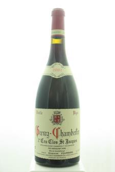 Domaine Fourrier Gevrey-Chambertin Clos Saint Jacques Vieilles Vignes 2002