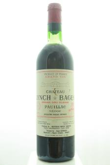 Lynch-Bages 1971