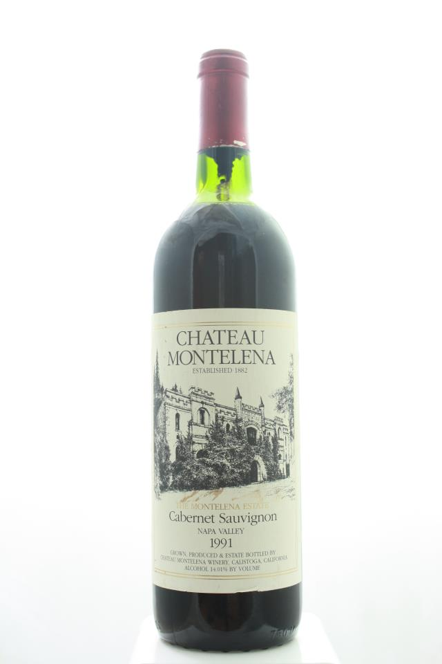 Chateau Montelena Cabernet Sauvignon The Montelena Estate 1991